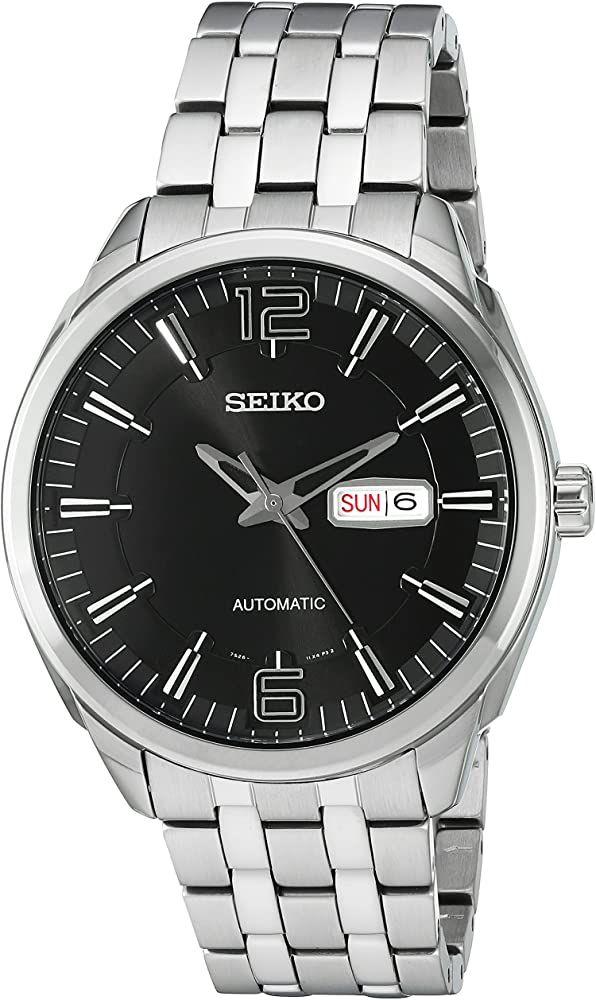 Montre Automatique Homme Seiko SNKN47 - 44.5mm (Frais d'importation et de douane inclus)
