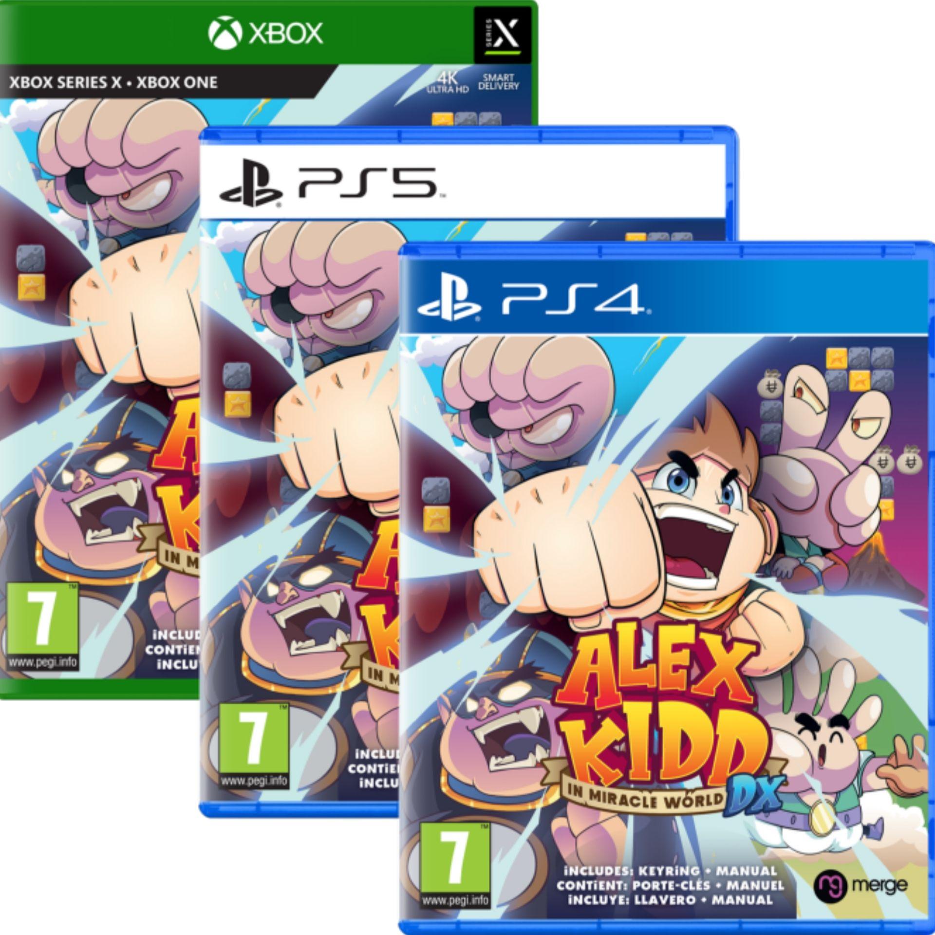 [Précommande] Alex Kidd in Miracle World DX sur PS5, PS4 ou Xbox (29,99€ sur Nintendo Switch)
