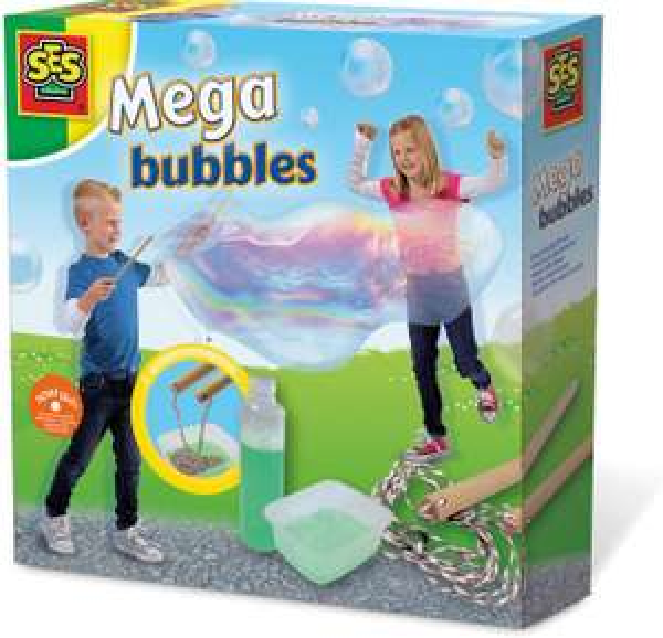 Jeu SES Creative Mega Bubbles - Faire des Bulles géantes (Via coupon)