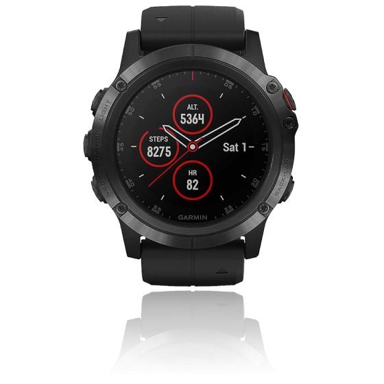 Montre GPS Garmin Fenix 5x plus black sapphire