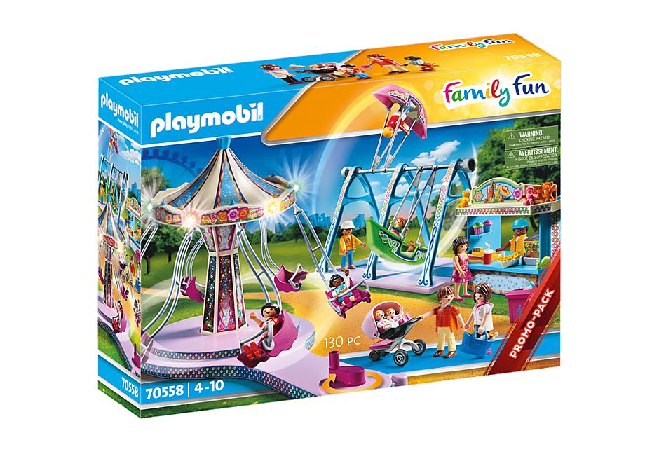 Jouet Playmobil Parc d'attraction n°70558