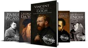 Sélection de eBooks Hourly History -Ex: Biographies of Artists: Vincent van Gogh, Leonardo da Vinci, Michelangelo Buonarroti (Dématérialisé)