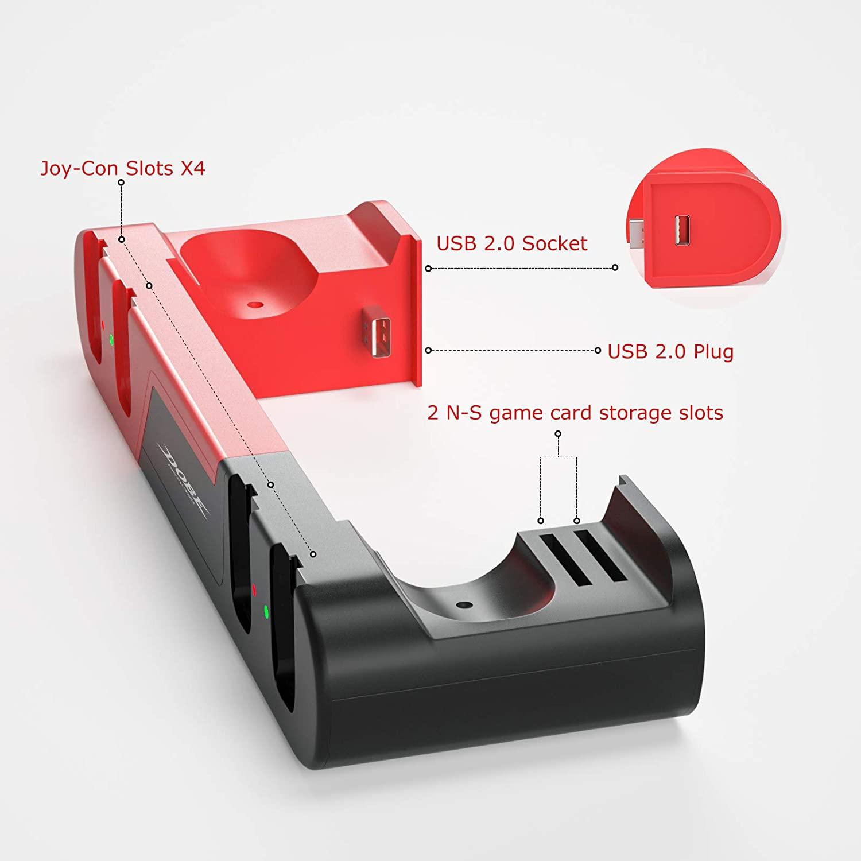 Support de charge Likorlove compatible Nintendo Switch (Vendeur tiers)