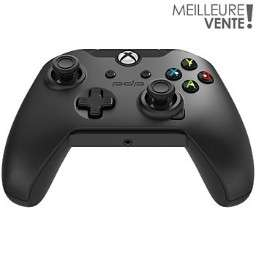Manette filaire PDP Afterglow V2 noire pour Xbox One