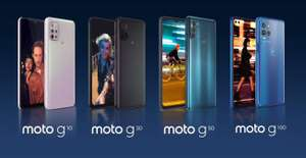 "Sélection de smartphones Motorola ""en promotion"" - Ex : Moto E6s - Moto G8 - Moto G9 - Moto 5G plus - Moto G10/G30/G100"