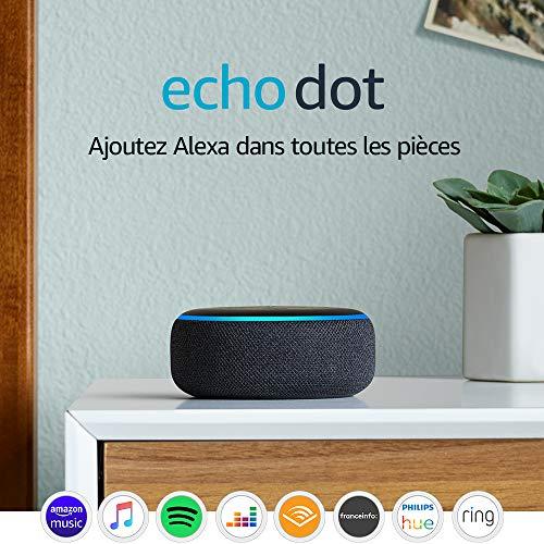 Assistant vocal Amazon Echo Dot 3 (3ème génération)
