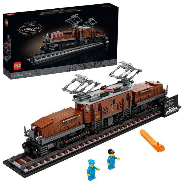 Lego Creator - 10277 - La locomotive crocodile