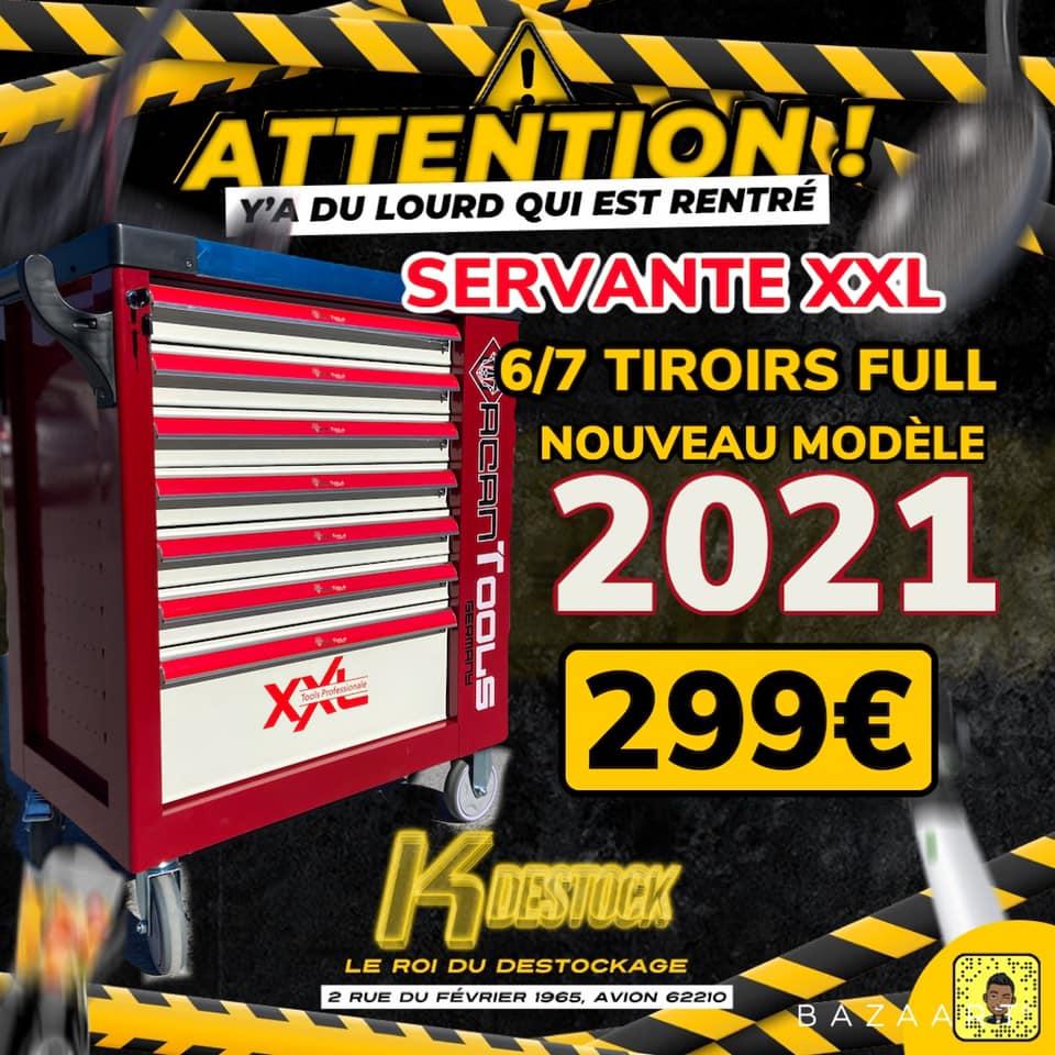 Servante Macan full XXL 2021 - K Destok (Avion 62)