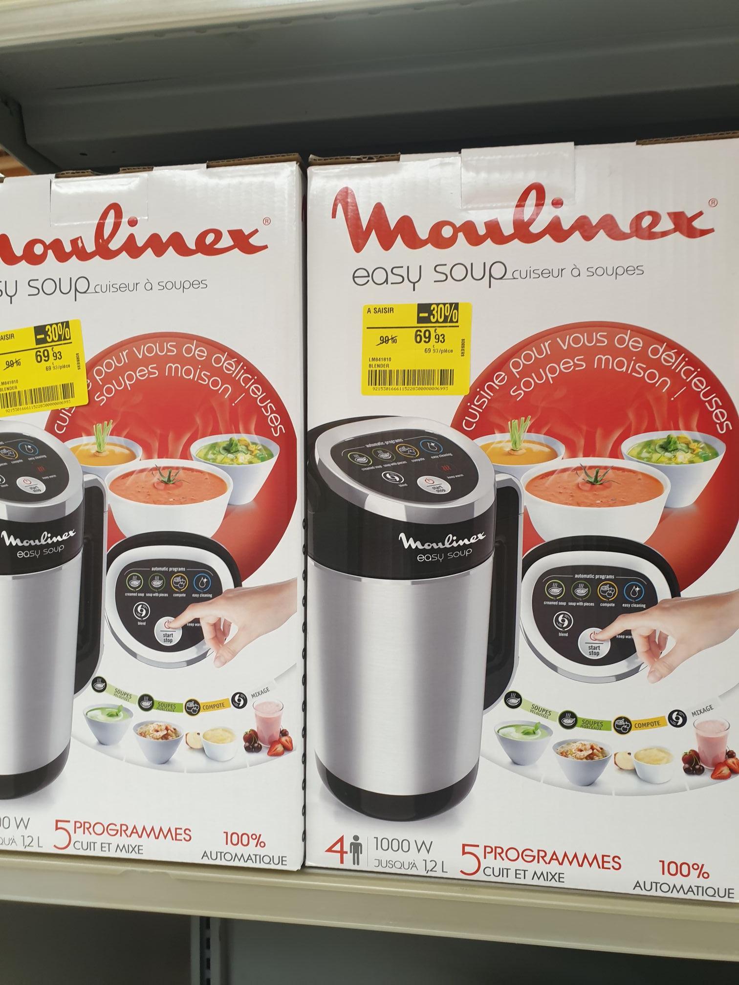 Blender Chauffant Moulinex Easy Soup LMB41810 (Sorbiers 42)