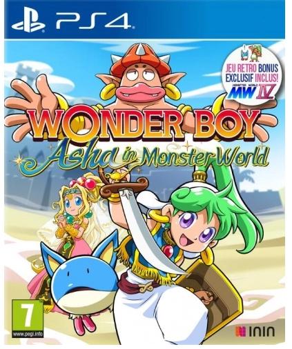 [Précommande] Wonder Boy : Asha In Monster World sur PS4 & Switch