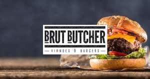 1 menu acheté = 1 menu Offert (le moins cher) dans une sélection de 6 restaurants Brut Butcher