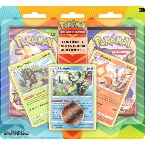 Pack de 2 boosters Pokemon Voltage Eclatant et Epée et Bouclier (Via Retrait Magasin)