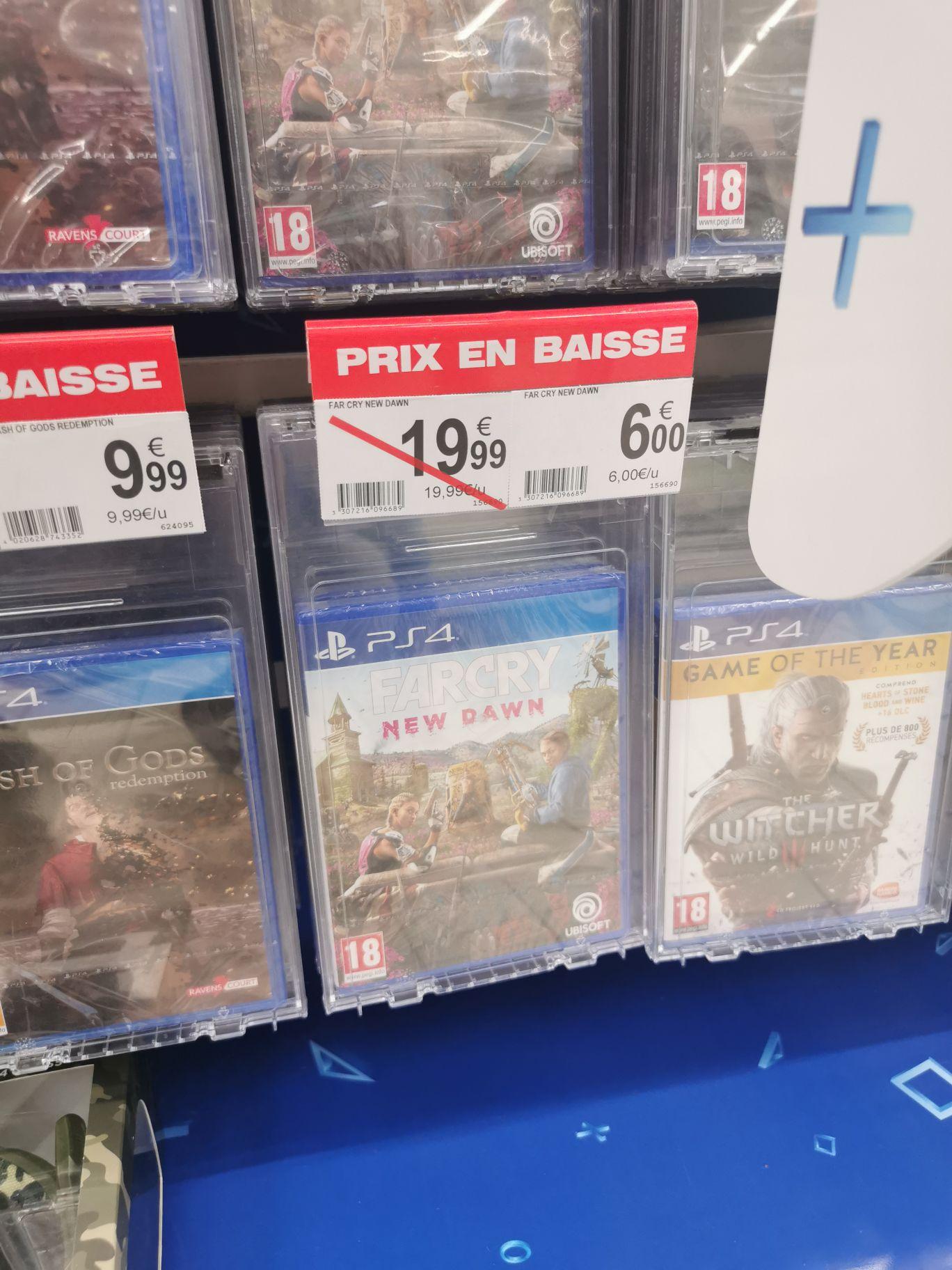 Farcry New Dawn sur PS4 - Auchan Avignon Nord (84)