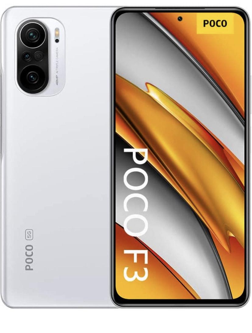 """Smartphone 6,67"""" POCO F3 - Full HD+ 120 Hz, SnapDragon 870, 6 Go RAM, 128 Go (vendeur tiers)"""