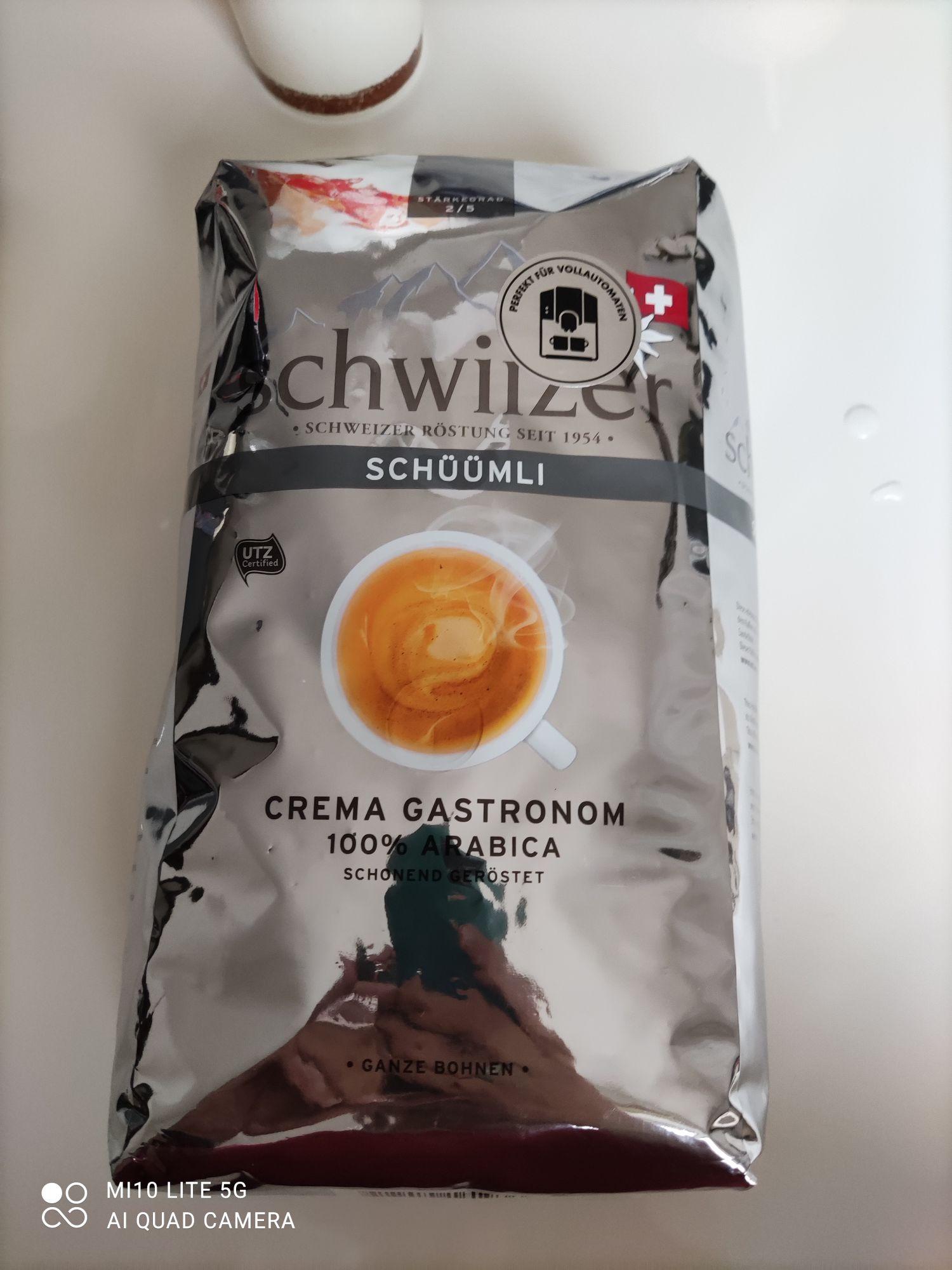 Paquet de café en grain Schwizzer (1kg) - Lunéville (54)