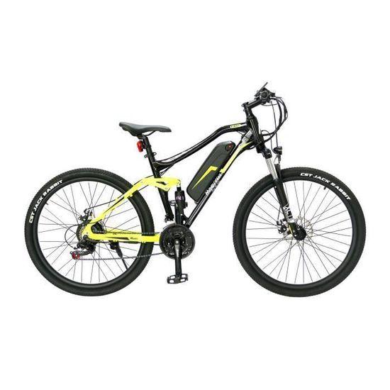 """Vélo VTT électrique 27.5"""" Moovway - Autonomie 40 km, 7 vitesses Shimano"""