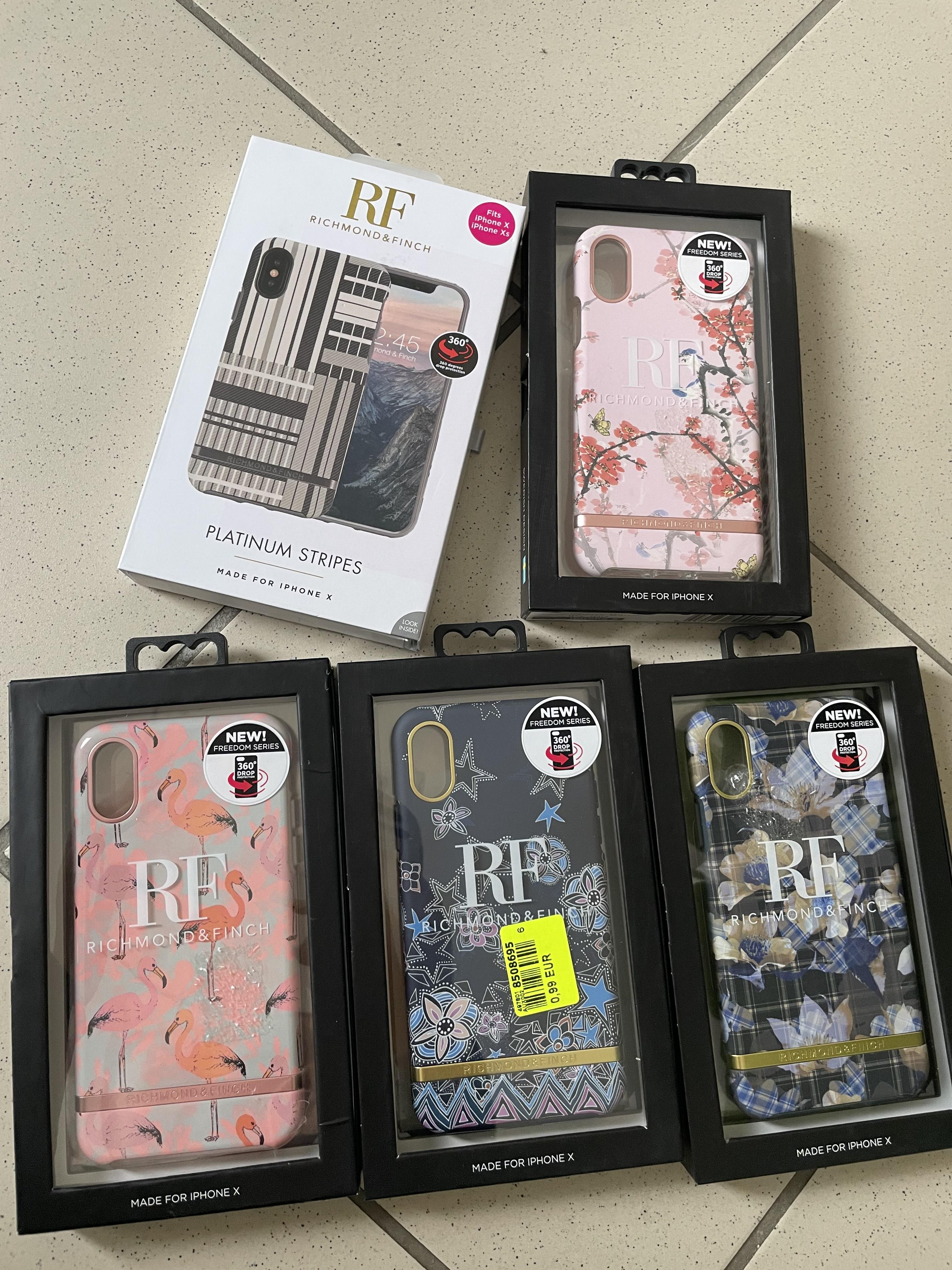 Sélection de coques pour iPhone Richmond & Finch en promotion - Ex: Coque pour iPhone X - Malauzat (63)
