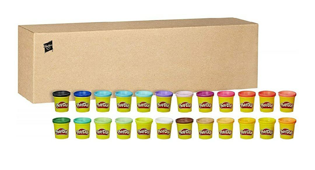 24 pots de Pâte à Modeler Play-Doh - 24x 84g