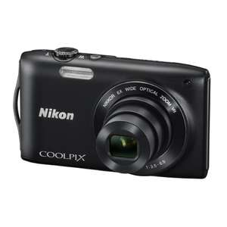 Appareil Photo Nikon Coolpix S3300 16Mpix Argent