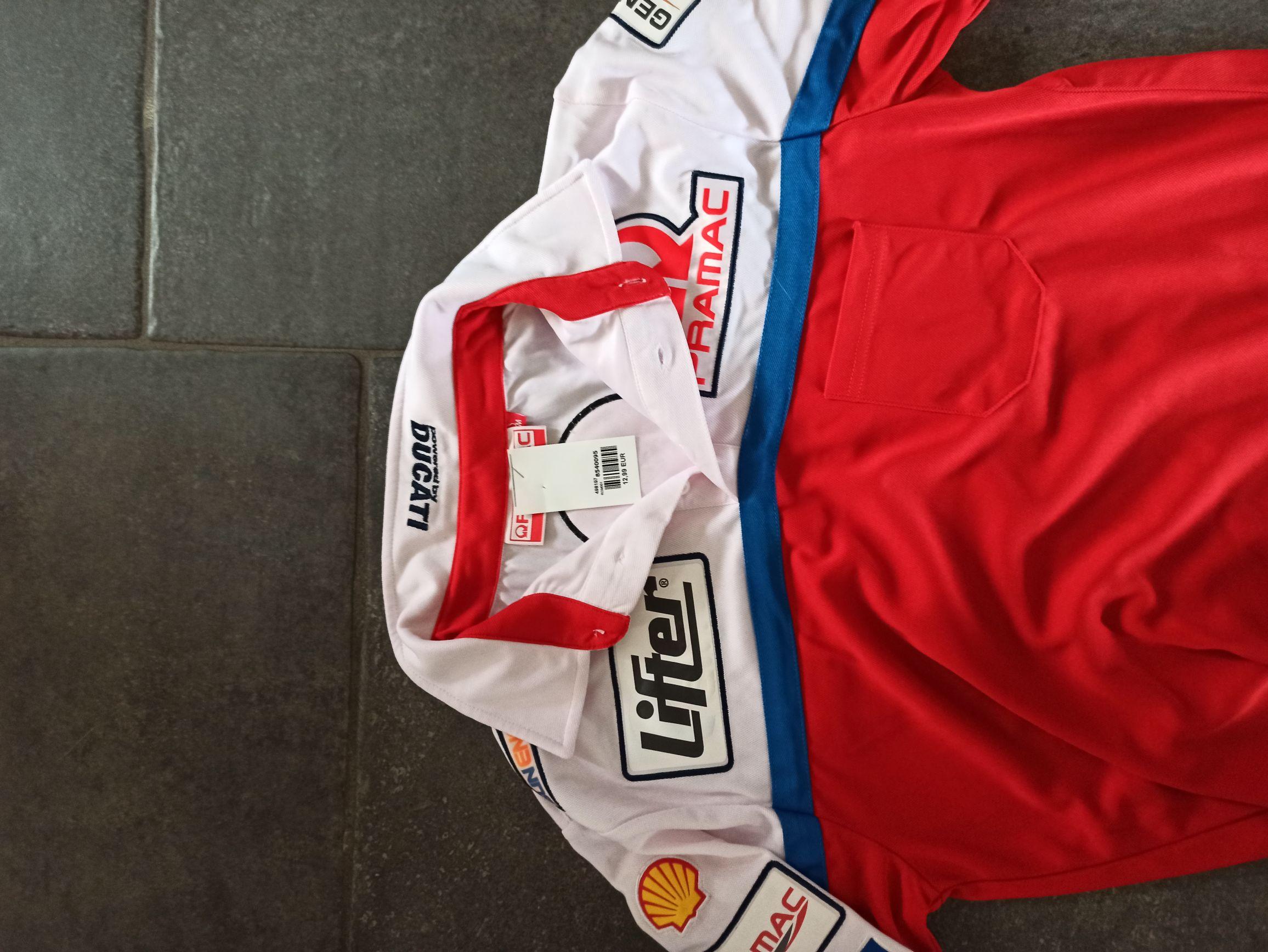 Sélection de Vêtements Moto GP en promotion - Ex : Polo Equipe Pramac - Plaisance-du-Touch / Portet-sur-Garonne (31)