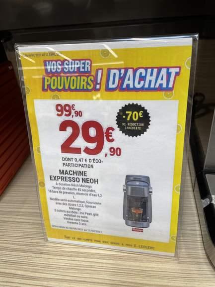 Machine à Expresso Malongo Maho Neoh - Perpignan (66)