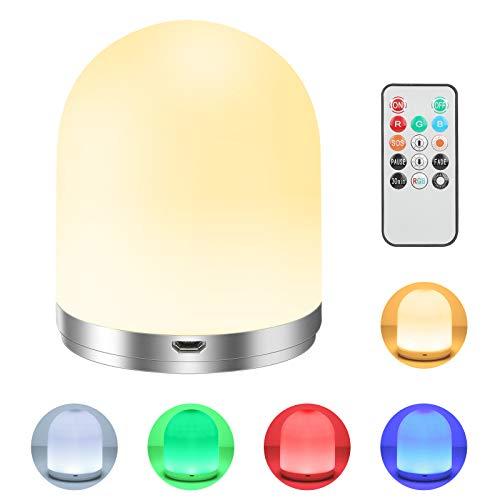 Veilleuse RGB télécommandée avec minuterie Tonskooners (Vendeur tiers)