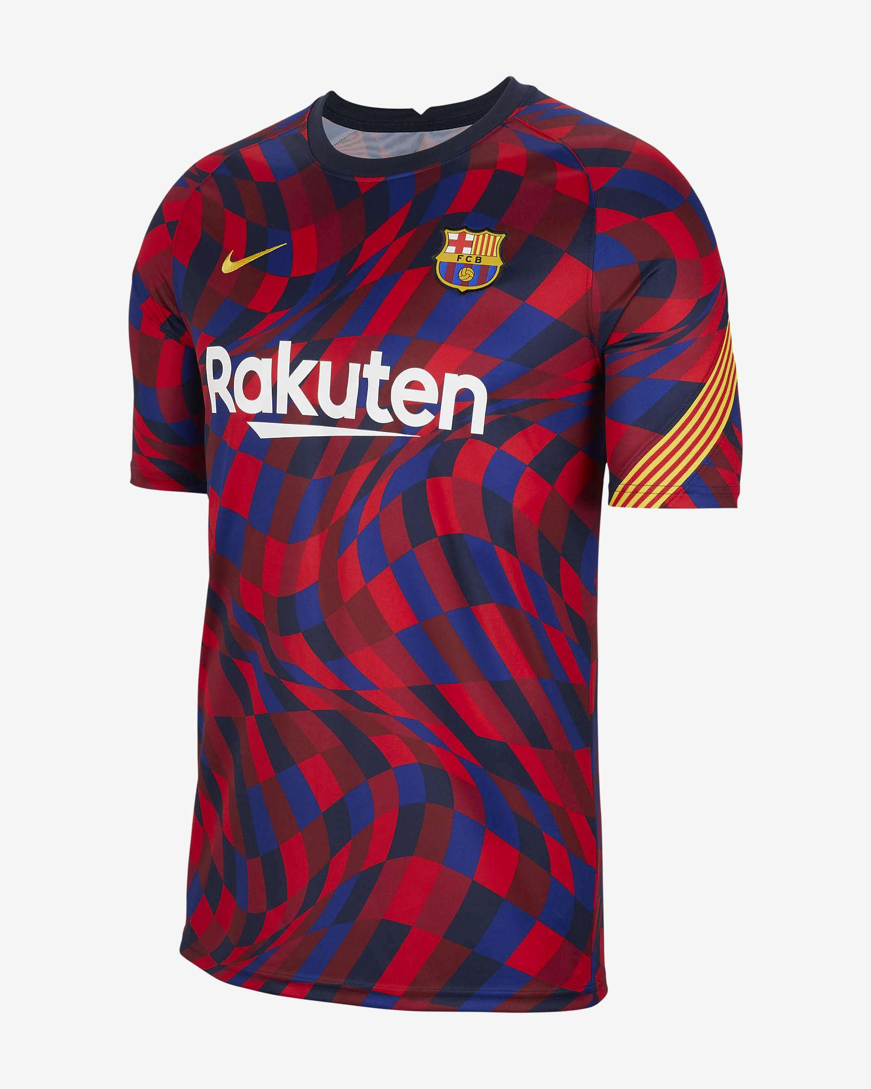 Haut de football à manches courtes pour Homme - FC Barcelone, Taille du XS au XL