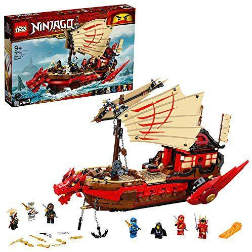Jeu de construction Lego Ninjago - Le Bateau Ninja (71705)