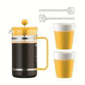 Sélection d'articles Bodum en promotion - Ex : Set bistro cafetière à piston + 2 tasses + cuillères différentes couleurs