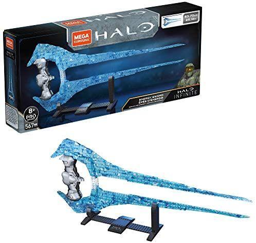 Epée d'énergie à construire Mega Construx Halo Infinite - 567 pièces, 53 cm
