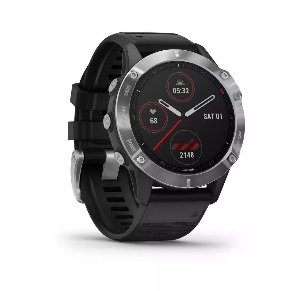 Montre GPS Multisports Garmin Fenix 6 Silver