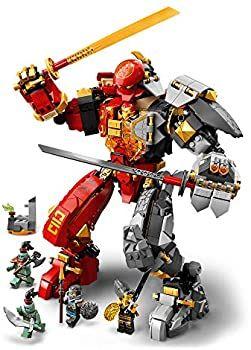 Jeu de construction Lego Ninjago - Le Robot de feu et de pierre (71720)