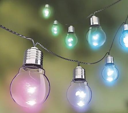 Guirlande Xanlite - 10 LEDs, 5m, RGB