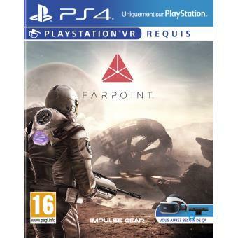 Jeu Farpoint PSVR sur PS4/PS5 - Retrait magasin