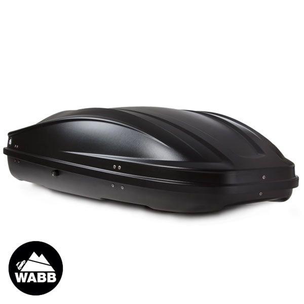 Coffres de toit WABB M - Noir