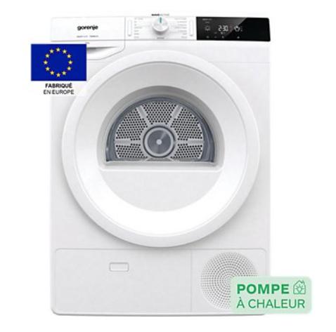 Sèche linge pompe à chaleur Gorenje DE92/G (Via ODR 200€)