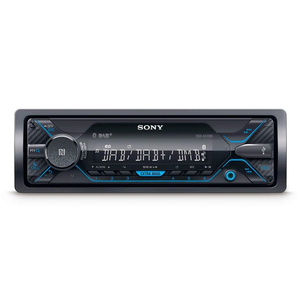 Autoradio Sony DSX-A510KIT - Bluetooth (via ODR 40€)