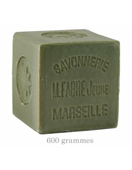 Savon de Marseille à l'huile d'olive - sans étui, 600g