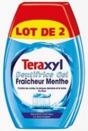 Lot de 2 dentifrices Teraxyl - différentes variétés (via 2,09€ sur la carte fidélité)