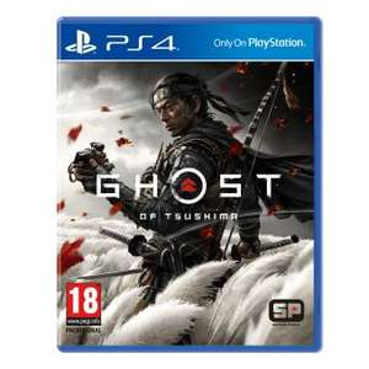Sélection de jeux en promotion - Ex : Jeu Ghost of Tsushima sur PS4