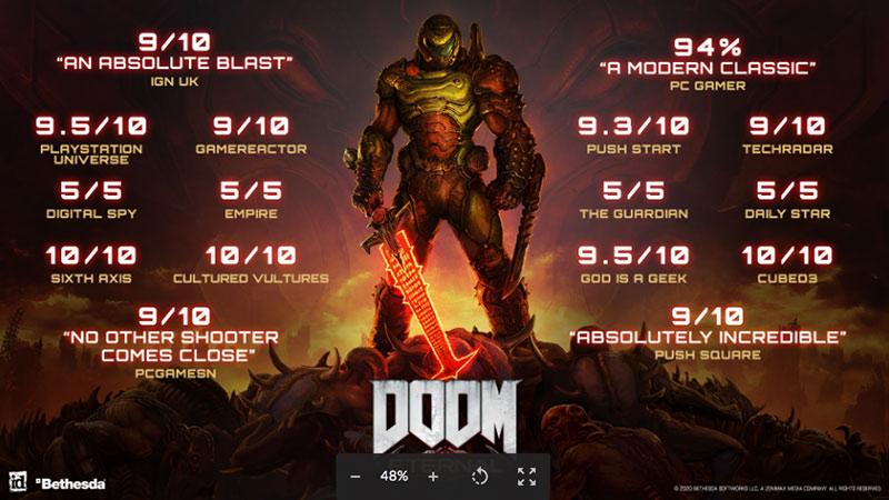 Jeu Doom Eternal - Deluxe Edition sur PC (Dématérialisé - Bethesda.net)