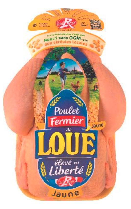 1 Poulet fermier Loué Label Rouge acheté = 50% de réduction sur le 2ème (4.99€ le kilo)