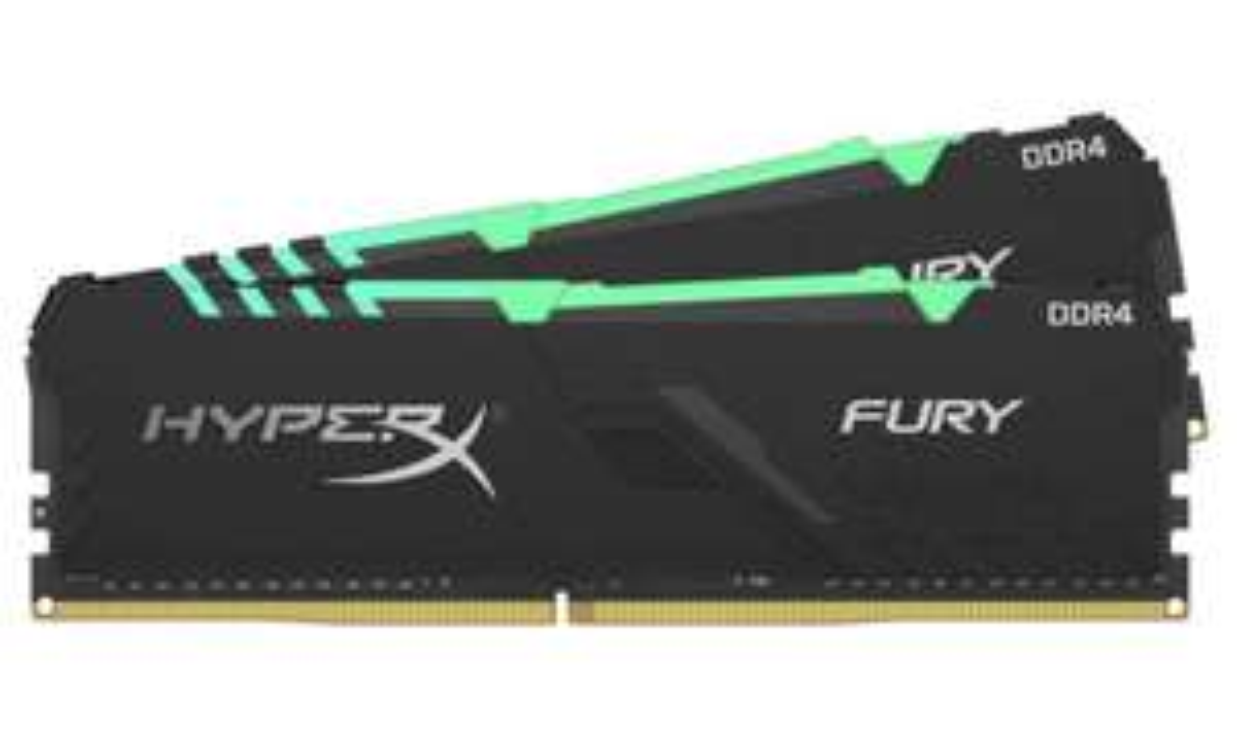 Kit mémoire Ram DDR4 HyperX Fury 16 Go (2x8 Go) - 3200MHz, CL16