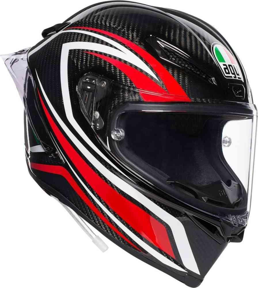 Casque moto integral AGV Pista GP R Staccata carbon