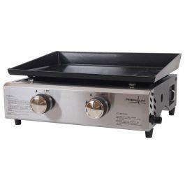 Plancha à gaz Sonarema Fondex 2 brûleurs - Surface de cuisson : 45,5 x 36,5 cm, 4kW