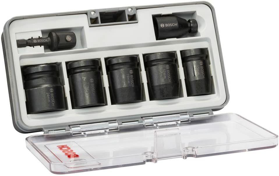 Coffret douilles à impact Bosch (2608551029) - 7 pièces