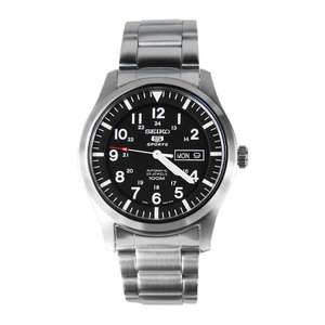 Montre automatique Seiko 5 Sports Military SNZG13K1 pour Homme - 42 mm