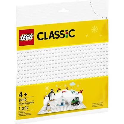 Plaque de base blanche Lego 11010 - 25 cm x 25 cm