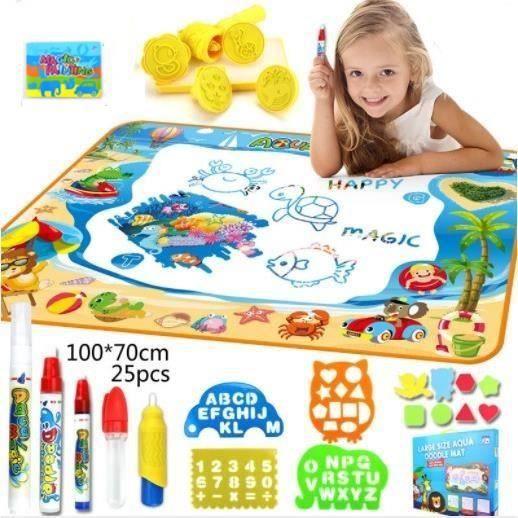 Tapis de jeux pour enfants avec accessoires - 100cm x 70 cm (Vendeur tiers)
