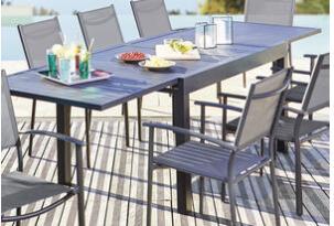 Table avec rallonge Carnac - 135/270 x 90 x 75 cm